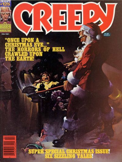 Cover for Creepy (Warren, 1964 series) #125