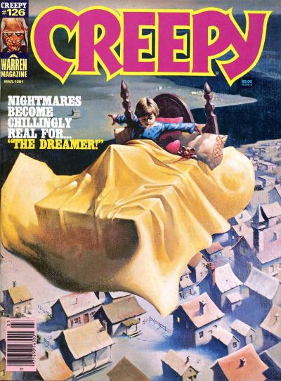 Cover for Creepy (Warren, 1964 series) #126