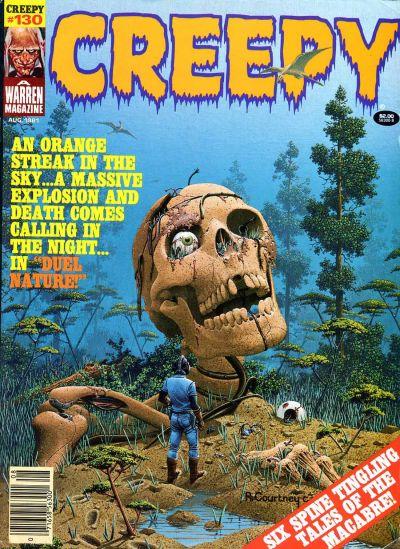 Cover for Creepy (Warren, 1964 series) #130