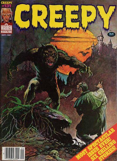 Cover for Creepy (Warren, 1964 series) #131