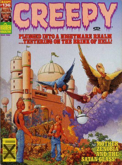 Cover for Creepy (Warren, 1964 series) #136