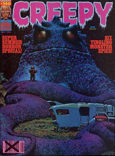 Cover for Creepy (Warren, 1964 series) #140