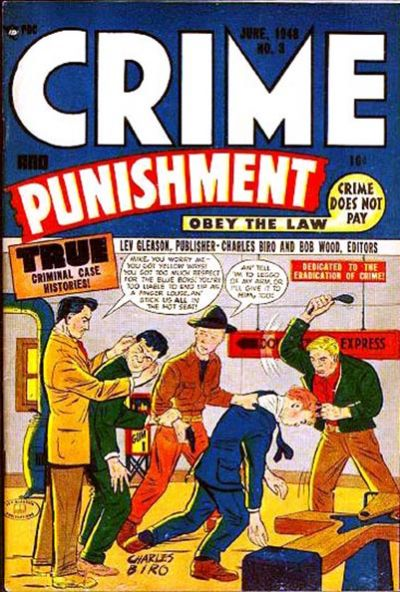 Cover for Crime and Punishment (Lev Gleason, 1948 series) #3