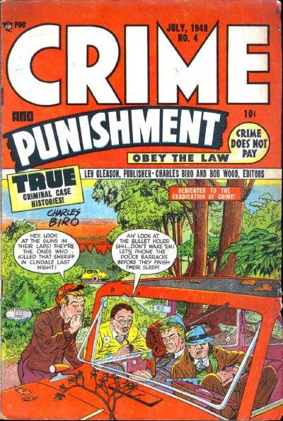 Cover for Crime and Punishment (Lev Gleason, 1948 series) #4
