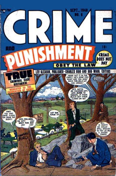 Cover for Crime and Punishment (Lev Gleason, 1948 series) #6