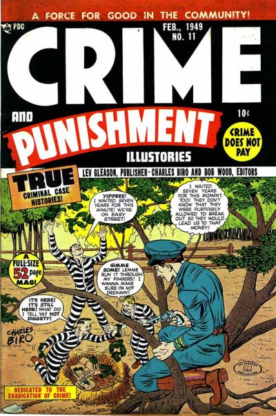Cover for Crime and Punishment (Lev Gleason, 1948 series) #11
