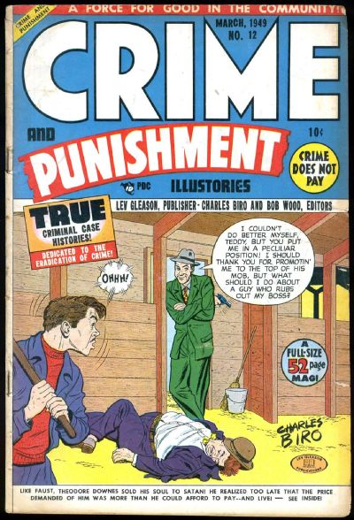 Cover for Crime and Punishment (Lev Gleason, 1948 series) #12