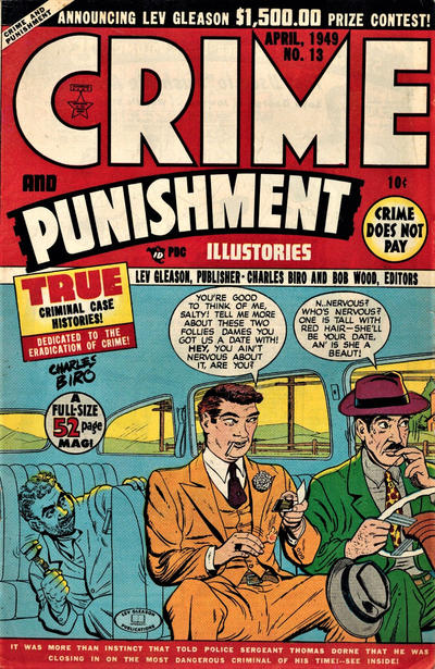 Cover for Crime and Punishment (Lev Gleason, 1948 series) #13