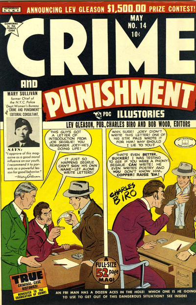 Cover for Crime and Punishment (Lev Gleason, 1948 series) #14