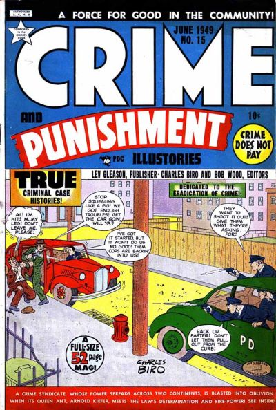 Cover for Crime and Punishment (Lev Gleason, 1948 series) #15