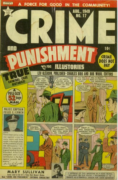 Cover for Crime and Punishment (Lev Gleason, 1948 series) #17