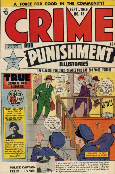 Cover for Crime and Punishment (Lev Gleason, 1948 series) #18