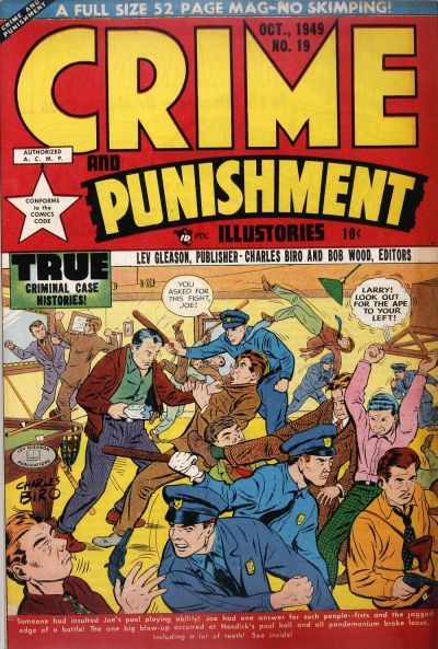 Cover for Crime and Punishment (Lev Gleason, 1948 series) #19