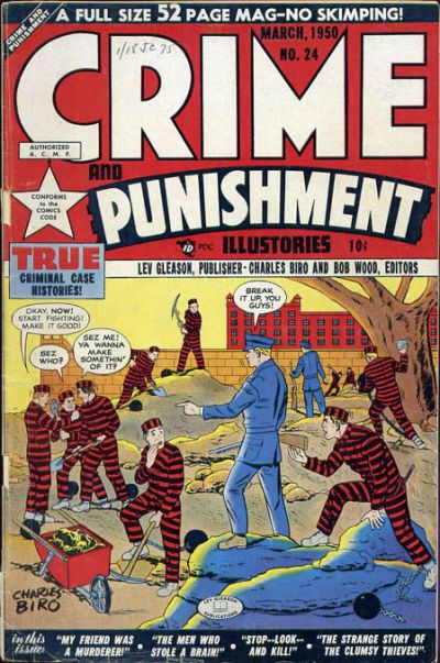 Cover for Crime and Punishment (Lev Gleason, 1948 series) #24