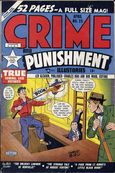 Cover for Crime and Punishment (Lev Gleason, 1948 series) #25