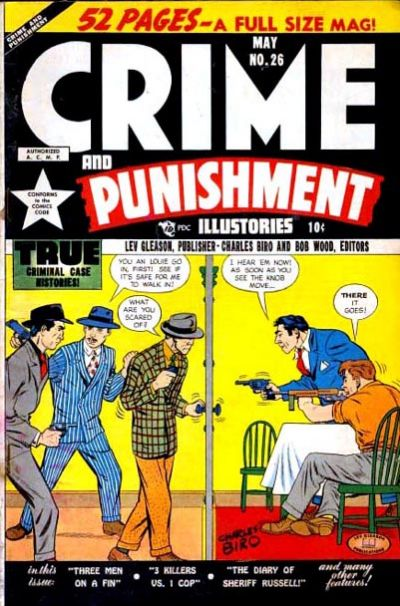 Cover for Crime and Punishment (Lev Gleason, 1948 series) #26
