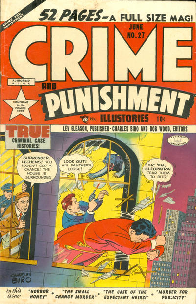 Cover for Crime and Punishment (Lev Gleason, 1948 series) #27