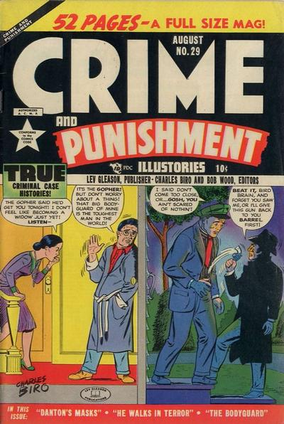 Cover for Crime and Punishment (Lev Gleason, 1948 series) #29