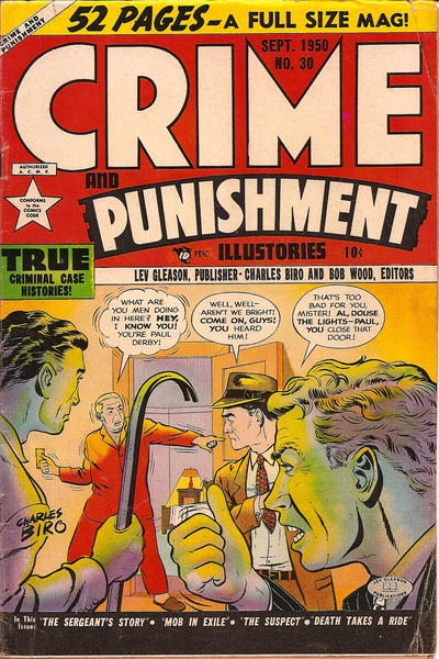 Cover for Crime and Punishment (Lev Gleason, 1948 series) #30