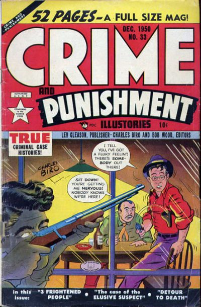 Cover for Crime and Punishment (Lev Gleason, 1948 series) #33