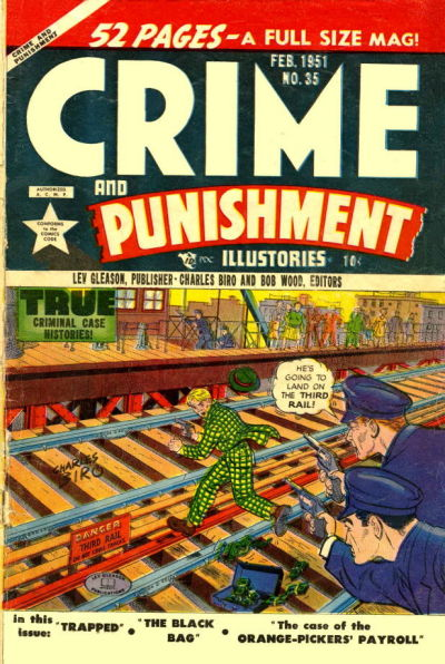 Cover for Crime and Punishment (Lev Gleason, 1948 series) #35