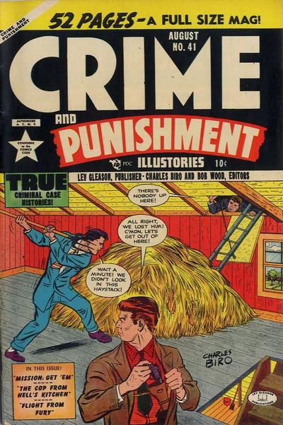 Cover for Crime and Punishment (Lev Gleason, 1948 series) #41