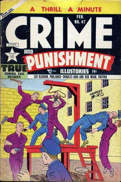 Cover for Crime and Punishment (Lev Gleason, 1948 series) #47
