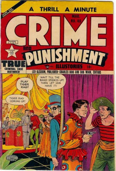 Cover for Crime and Punishment (Lev Gleason, 1948 series) #48