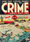 Cover for Crime Does Not Pay (Lev Gleason, 1942 series) #50