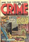 Cover for Crime Does Not Pay (Lev Gleason, 1942 series) #51