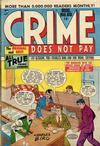 Cover for Crime Does Not Pay (Lev Gleason, 1942 series) #66
