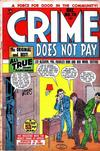 Cover for Crime Does Not Pay (Lev Gleason, 1942 series) #70