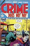 Cover for Crime Does Not Pay (Lev Gleason, 1942 series) #128