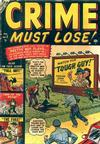 Cover for Crime Must Lose (Marvel, 1950 series) #5