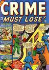 Cover for Crime Must Lose (Marvel, 1950 series) #8