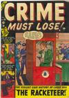 Cover for Crime Must Lose (Marvel, 1950 series) #10