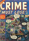 Cover for Crime Must Lose (Marvel, 1950 series) #12
