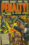 Cover for Crime Must Pay the Penalty (Ace Magazines, 1948 series) #3