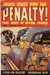 Cover for Crime Must Pay the Penalty (Ace Magazines, 1948 series) #12
