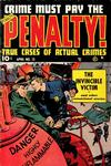 Cover for Crime Must Pay the Penalty (Ace Magazines, 1948 series) #13
