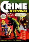 Cover for Crime Mysteries (Ribage, 1952 series) #1