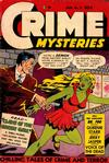 Cover for Crime Mysteries (Ribage, 1952 series) #5
