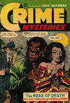 Cover for Crime Mysteries (Ribage, 1952 series) #10