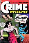Cover for Crime Mysteries (Ribage, 1952 series) #11
