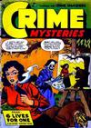 Cover for Crime Mysteries (Ribage, 1952 series) #13