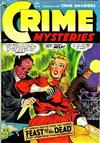 Cover for Crime Mysteries (Ribage, 1952 series) #15