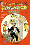 Cover for Chic Young's Dagwood Comics (Harvey, 1950 series) #1