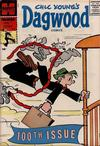 Cover for Chic Young's Dagwood Comics (Harvey, 1950 series) #100