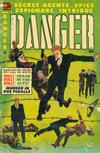 Cover for Danger (Comic Media, 1953 series) #8
