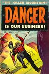 Cover for Danger Is Our Business! (Toby, 1953 series) #3